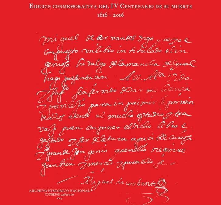 Presentación del libro 'Autógrafos de Miguel de Cervantes' – El Comercio.es