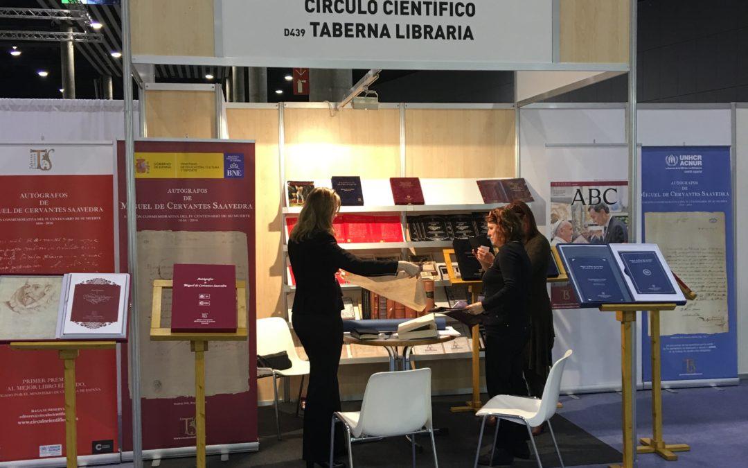Autógrafos de Cervantes en Liber | Feria Internacional del Libro